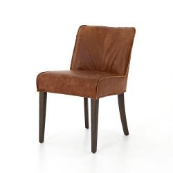 Four Hands Aria Dining Chair - Sienna Chestnut - Warm Nettlewood