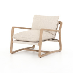 Four Hands Lane Outdoor Chair - Faye Sand - Washed Brown