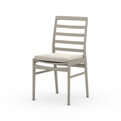 Four Hands Linnet Outdoor Dining Chair - Faye Sand - Weathered Grey