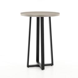 Four Hands Cyrus Bar Table - Black - Light Grey