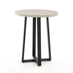 Four Hands Cyrus Counter Table - Black - Light Grey