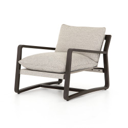 Four Hands Lane Outdoor Chair - Faye Ash - Bronze