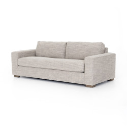 "Four Hands Boone Sofa-86"" - Thames Coal - Washed Espresso"