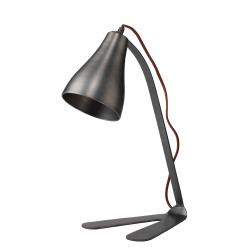 Jamie Young Fleetwood Task Lamp - Gun Metal
