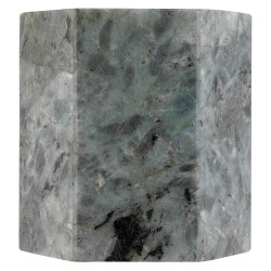 Jamie Young Borealis Hexagon Wall Sconce - Labradorite