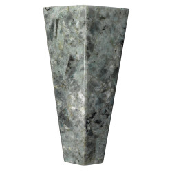 Jamie Young Borealis Hexagon Wall Sconce - Tall - Labradorite