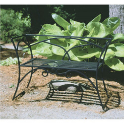 Arbor Bench With Back
