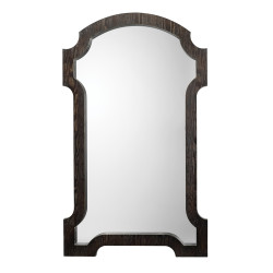 Jamie Young Estate Mirror - Dark Grey Wood