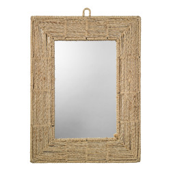 Jamie Young Rectangle Jute Mirror