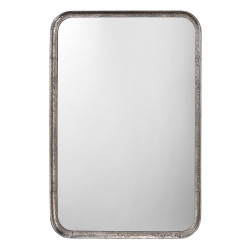 Jamie Young Principle Vanity Mirror - Silver Leaf Metal