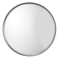 Jamie Young Refined Mirror - Silver Leaf Metal