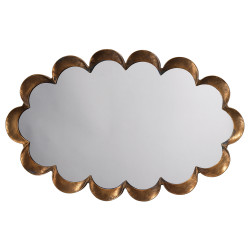 Jamie Young Scalloped Mirror
