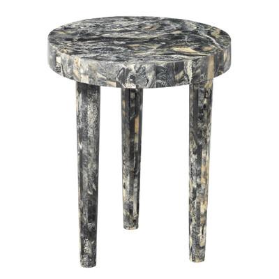 Jamie Young Artemis Side Table - Large - Black Resin
