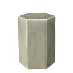 Jamie Young Porto Side Table - Small - Pistachio Ceramic