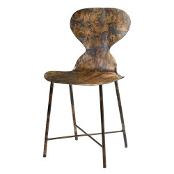 Jamie Young McCallan Metal Chair
