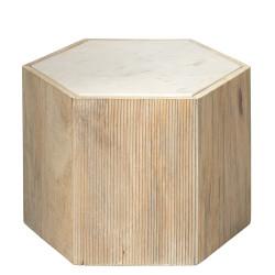 Jamie Young Argan Hexagon Table - Medium