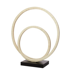 Jamie Young Helix Double Ring Sculpture