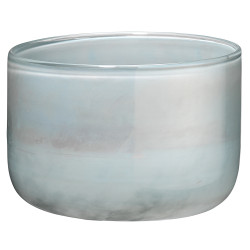 Jamie Young Vapor Vase - Small - Metallic Opal Glass