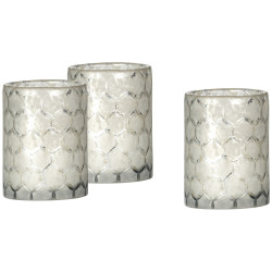 Jamie Young Glass Hurricanes - Set of 3 - Small