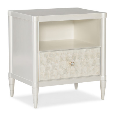 Caracole White Cap Nightstand