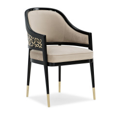 Caracole Club Member At The Table Dining Chair