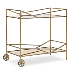 Caracole Vector Bar Cart