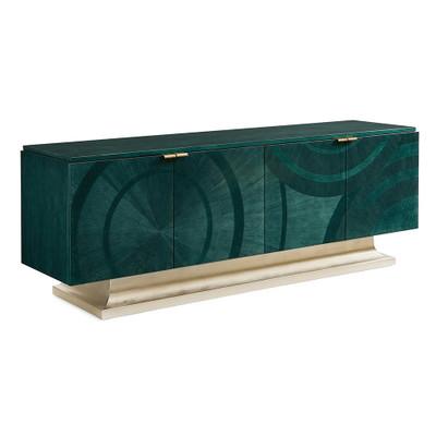 Caracole Deja Blue Console Table