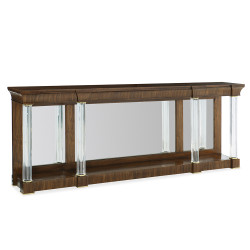 Caracole A Clear Perspective Console Table