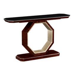 Jonathan Charles Belgravia Black Eucalyptus Console Table