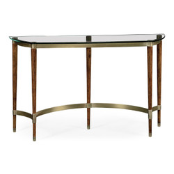 Jonathan Charles Cosmo Hyedua & Glass Console Table