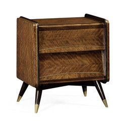 Jonathan Charles Cosmo Hyedua Mid-Century Bedside Chest Of Drawers