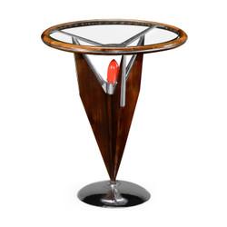 Jonathan Charles Detroit Tailfin Side Table