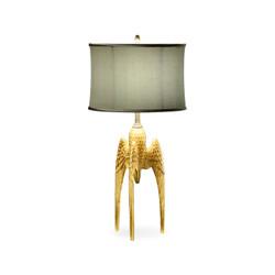Jonathan Charles Icarus Three Winged Table Lamp