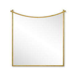 Jonathan Charles Luxe Gilded Iron Mirror