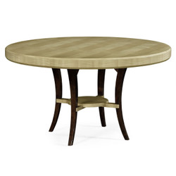 "Jonathan Charles Opera 54"" Art Deco Round Dining Table"