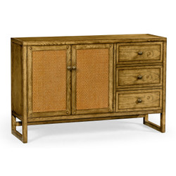 Jonathan Charles Sussex Light Brown Chestnut Buffet Cabinet