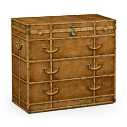 Jonathan Charles Voyager Travel Chest Of Drawers Style Dressing Chest