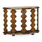 Jonathan Charles Artisan Demilune Console Table In Rustic Walnut