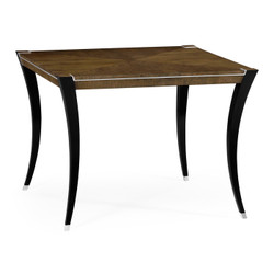 "Jonathan Charles Assorted 48"" American Walnut High Top Table"