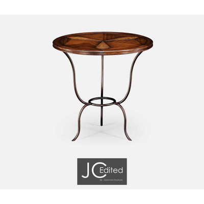 Jonathan Charles Anvil Walnut Bistro Table