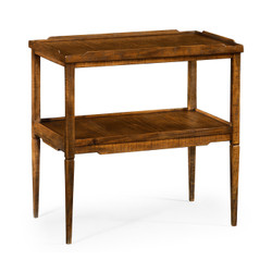 Jonathan Charles Casually Country Country Walnut Side Table