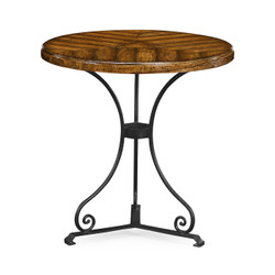 Jonathan Charles Casually Country Country Walnut Style Parquet Table