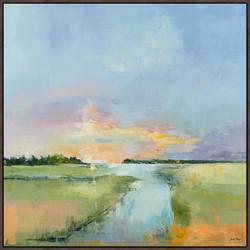 Sunset on Asley Creek