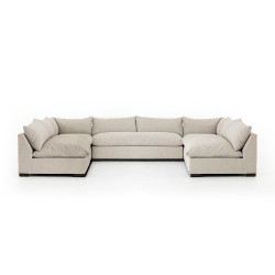 Four Hands Grant 5 - Piece Sectional - Oatmeal