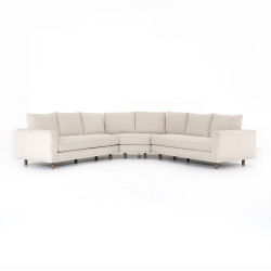 Four Hands Dom 3 - Piece Sectional - Small Wedge