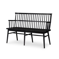 Four Hands Aspen Bench - Black