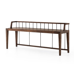 Four Hands Howard Bench - Pecan