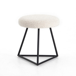 Four Hands Frankie Accent Stool - Knoll Natural
