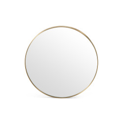 Four Hands Bellvue Round Mirror - Small - Polished Brass
