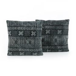 "Four Hands Mud Cloth Print Pillow, Set Of 2 - 20X24"""